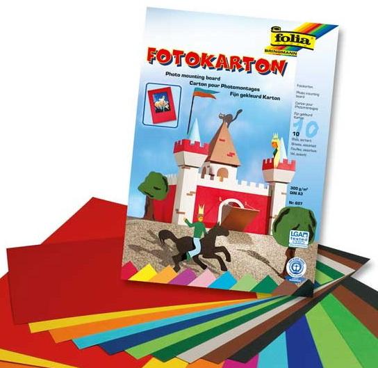Fotokarton 10er-Block Folia