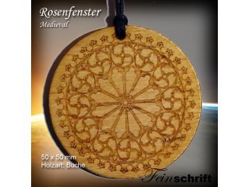 "Anhänger ""Rosenfenster"""