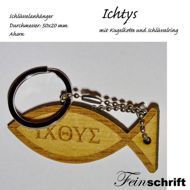 Schlüsselanhänger Ichthys